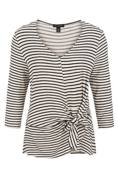 Tribal  3/4 sleeve knot top - Product List Image