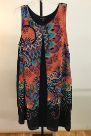 Tribal Attached Vest Dress - Product Mini Image