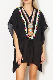 Laon Tribal Beaded Cover Up - Product Mini Image