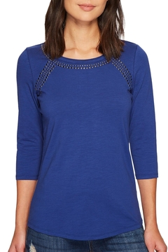 Shoptiques Product: Beaded Jersey Top