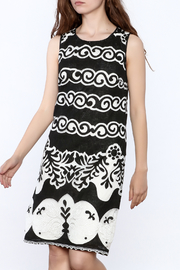 Tribal Black Printed Dress - Product Mini Image