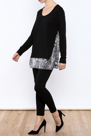 Tribal Black Sweater - Front full body
