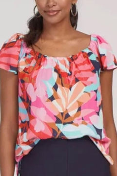 Tribal Bright Summer Top - Product List Image