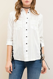 Entro Tribal Button-Down Shirt - Product Mini Image