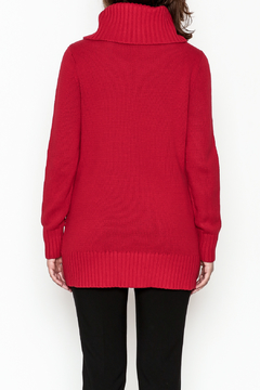 Tribal Cable Knit Sweater Tunic - Alternate List Image