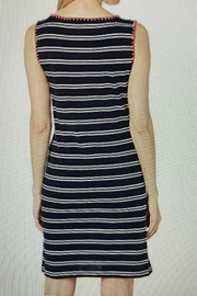 Tribal Casual Striped Dress - Front full body