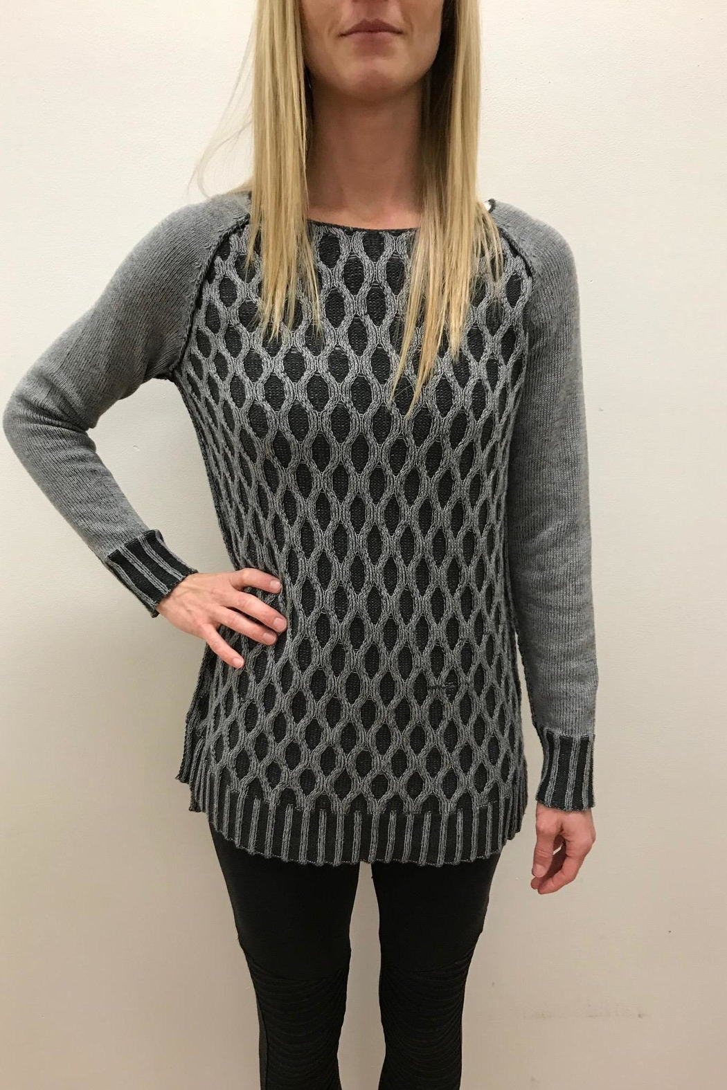 Tribal Cotton Cable Sweater from Nebraska by Lana a Boutique ...