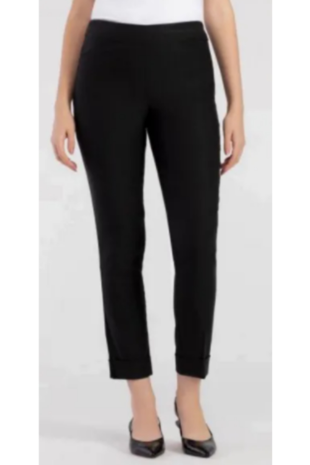Tribal  Cuffed Pull On Cigarette Pant - Main Image