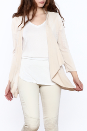 Tribal Casual Beige Cardigan - Product Mini Image