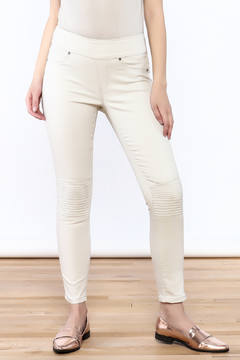 Tribal Casual Beige Pants - Product List Image