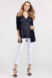 Tribal Dot Back Cardigan - Product Mini Image