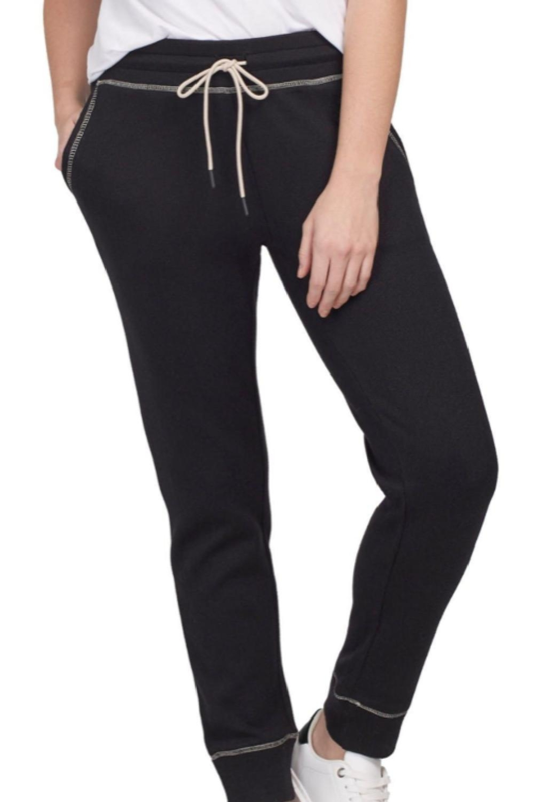Tribal Drawstring Jogger With Contrast - Main Image
