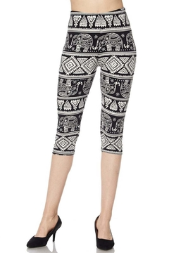 Shoptiques Product: Tribal Elephant Capri