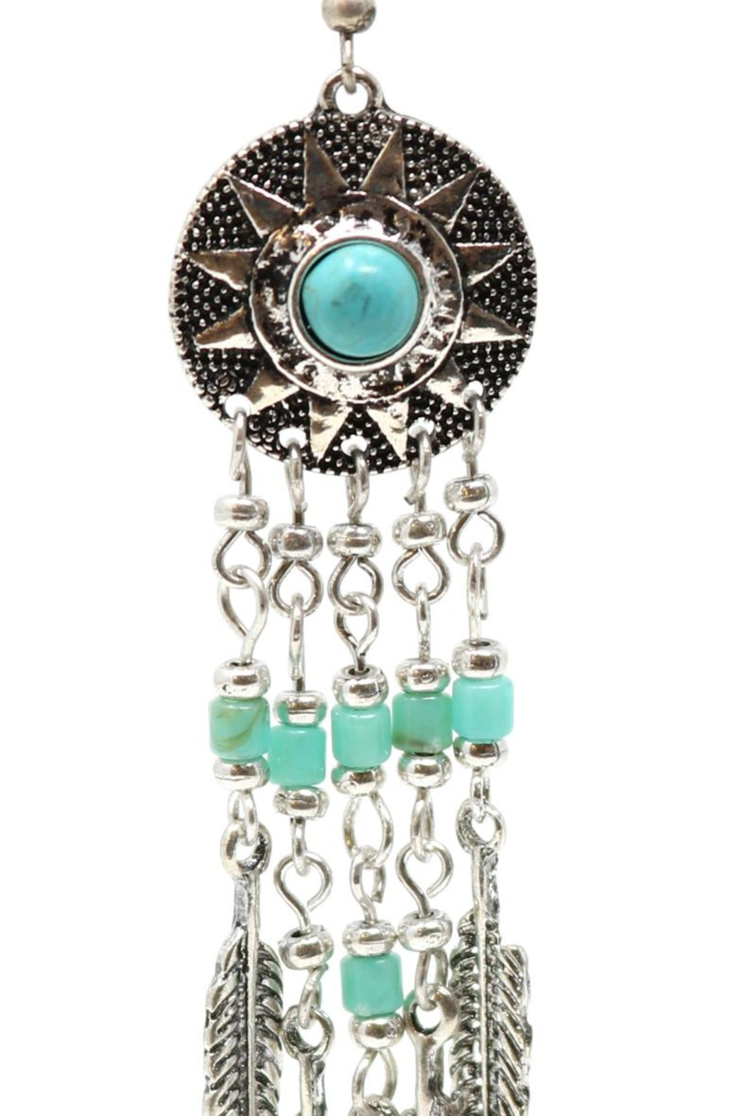 Nadya's Closet Tribal Fashion Earrings - Front Full Image