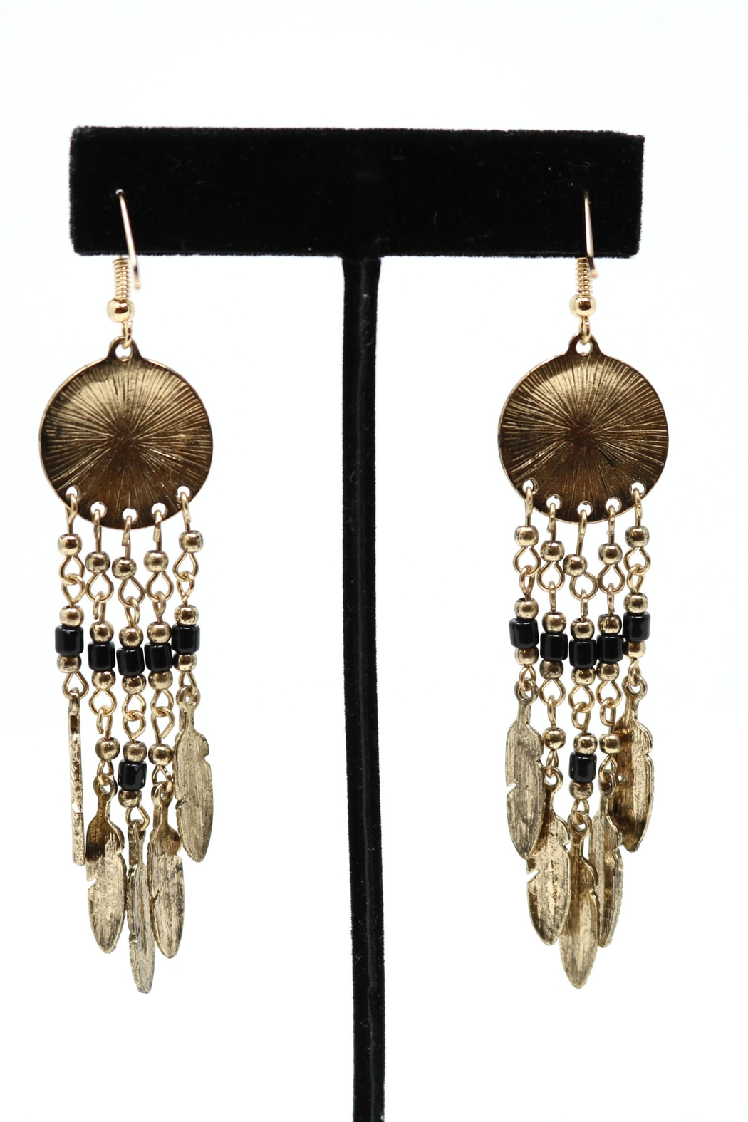 Nadya's Closet Tribal Fashion Earrings - Side Cropped Image