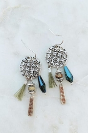 Wild Lilies Jewelry  Tribal Fringe Earrings - Product Mini Image