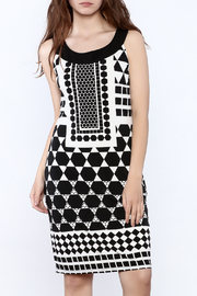 Tribal Geometric Print Dress - Product Mini Image