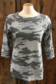 Tribal Grey Camo Sweater - Product Mini Image