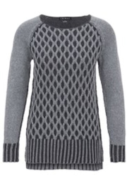 Tribal Grey Reversible Sweater - Product Mini Image