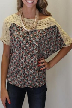 Shoptiques Product: Tribal Grunge Top