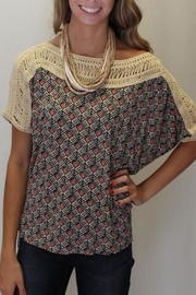 Free People Tribal Grunge Top - Side cropped