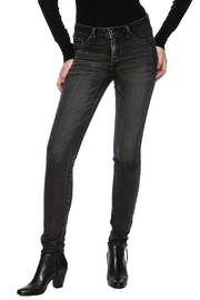 Tribal Jeans Black Distressed Jean - Product Mini Image