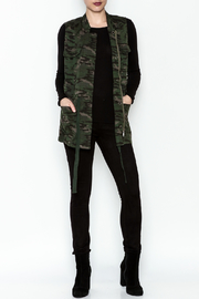 Tribal Jeans Camo Vest - Side cropped