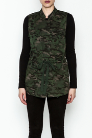 Tribal Jeans Camo Vest - Front full body
