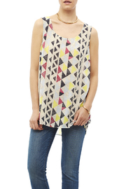 Tribal Jeans Colorful Tunic Tank - Front cropped