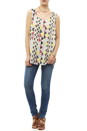 Tribal Jeans Colorful Tunic Tank - Front full body