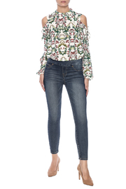 Tribal Jeans Distressed Jean - Front full body