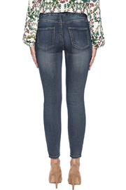 Tribal Jeans Distressed Jean - Back cropped