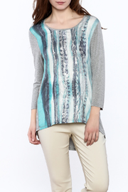 Tribal Jeans Graphic Tunic Top - Product Mini Image