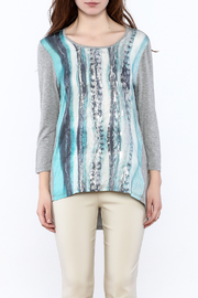 Tribal Jeans Graphic Tunic Top - Side cropped
