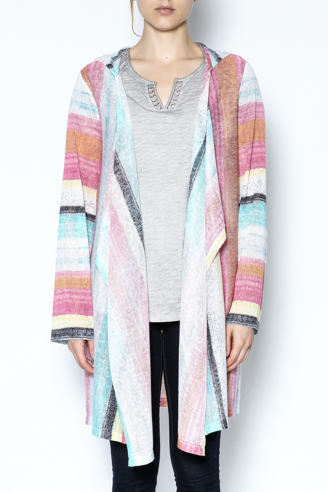 Tribal Jeans Hooded Cardigan from Nebraska by Lana a Boutique ...