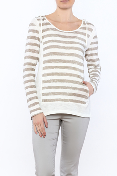 Tribal Jeans Hooded Knit Top - Product List Image