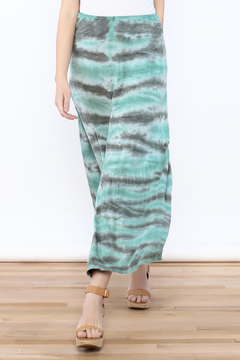 Shoptiques Product: Tie Dye Maxi Skirt