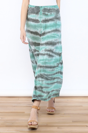 Tribal Jeans Tie Dye Maxi Skirt - Product Mini Image