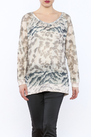Tribal Jeans Animal Print Sweater - Product Mini Image