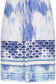 Tribal Jersey Knot Dress - Front full body