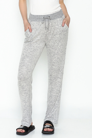 Tribal Knit Relaxed Pants - Product Mini Image