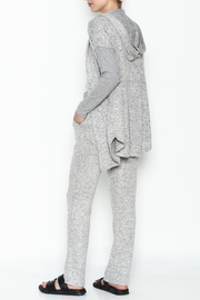 Tribal Knit Relaxed Pants - Side cropped