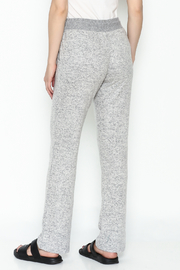 Tribal Knit Relaxed Pants - Back cropped