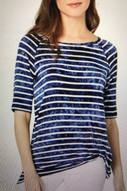 Tribal Knotted Stripe Tee - Product Mini Image