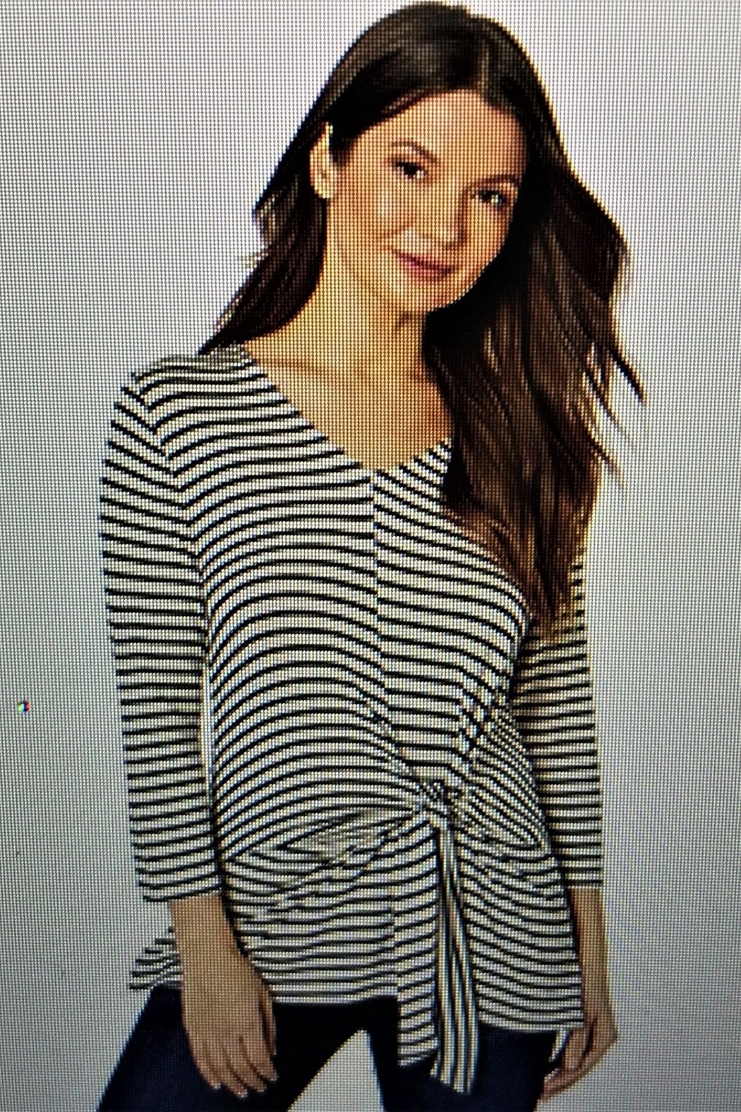 Tribal Knotted Tie Top - Main Image