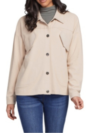 tribal  Tribal L/S Button Front Jacket-Sandstone - Product Mini Image