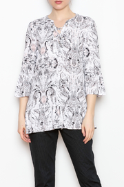 Tribal Lace Up Top - Product Mini Image