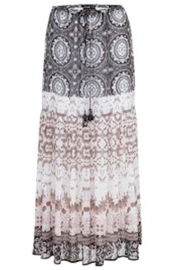 Tribal Maxi Print Skirt - Product Mini Image