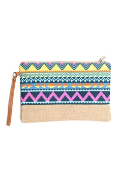 May 23 Tribal Mini Clutch - Product List Image