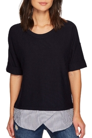 Tribal Mix Media Top - Front cropped